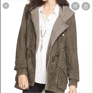 Free People Utility Coat (dark grey)